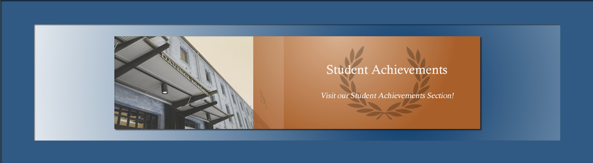 Visit the student achievement section for more information!
